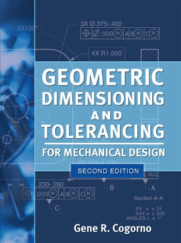 Geometric Dimensioning and Tolerancing for Mechanical Design  2nd 2011 edition cover