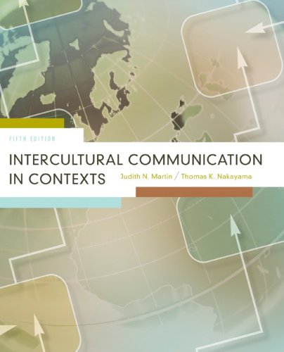 Intercultural Communication in Contexts  5th 2010 edition cover