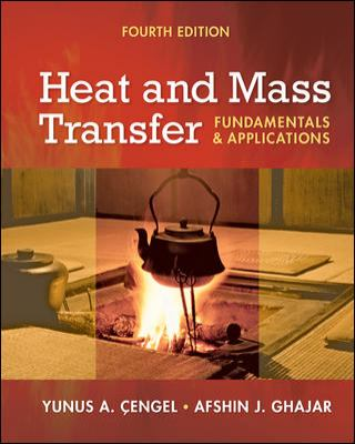 Heat and Mass Transfer : A Practical Approach 4th 2010 edition cover