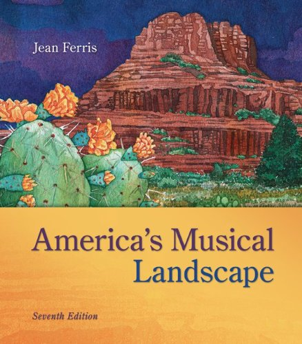 America's Musical Landscape:  7th 2013 edition cover