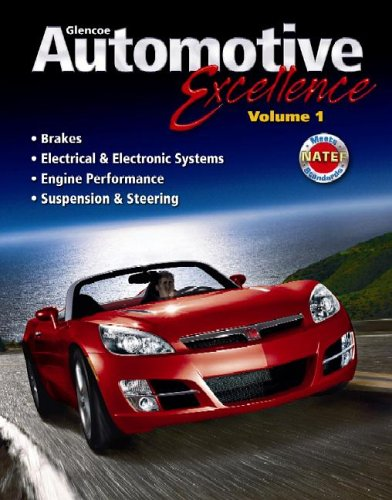 Automotive Excellence  3rd 2007 (Student Manual, Study Guide, etc.) edition cover