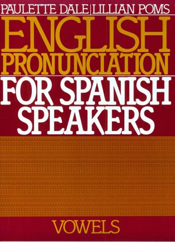 English Pronunciation for Spanish Speakers Vowels  1985 edition cover