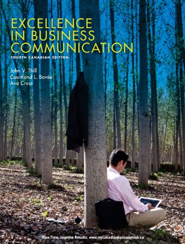 Excellence in Business Communication  4th 2011 9780135119129 Front Cover