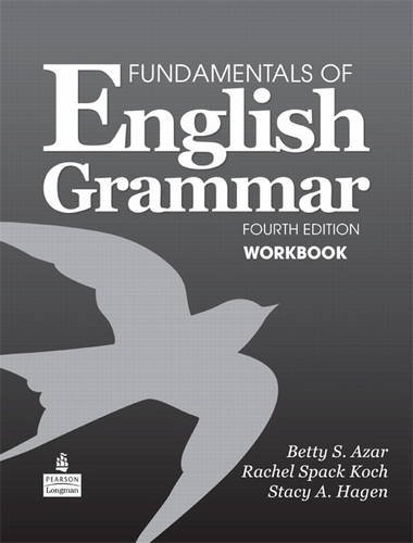 Fundamentals of English Grammar Workbook  4th 2011 edition cover