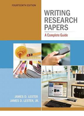 Writing Research Papers A Complete Guide 14th 2012 edition cover