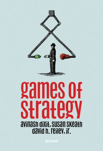 Games of Strategy  3rd 2009 edition cover