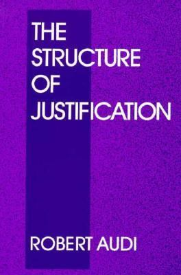 Structure of Justification   1993 9780521446129 Front Cover