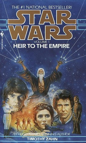 Heir to the Empire: Star Wars Legends (the Thrawn Trilogy)   1991 9780553296129 Front Cover