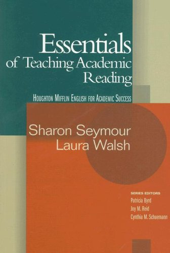 Essentials of Teaching Academic Reading   2006 edition cover