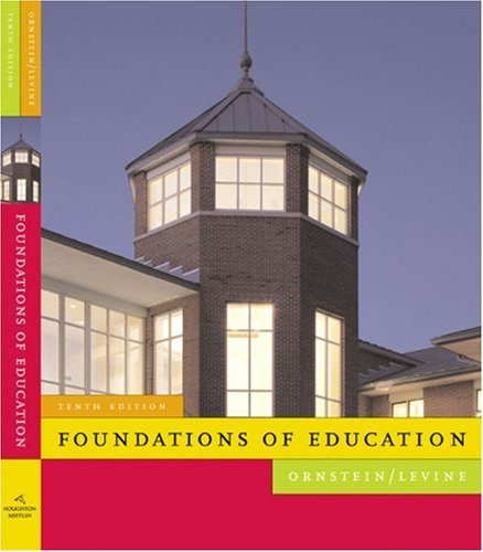 Foundations of Education  10th 2008 edition cover