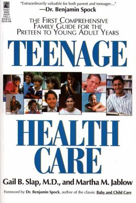 Teenage Health Care   1994 9780671754129 Front Cover