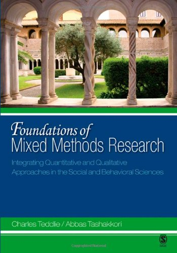Foundations of Mixed Methods Research Integrating Quantitative and Qualitative Approaches in the Social and Behavioral Sciences  2009 edition cover