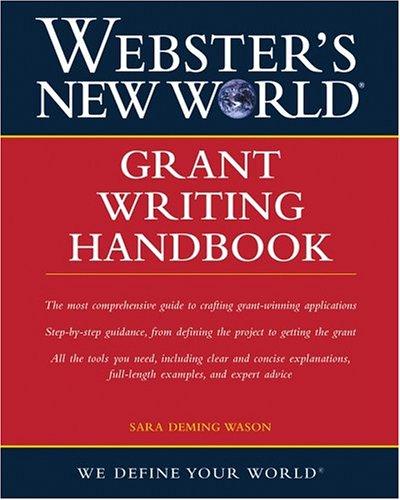 Grant Writing Handbook   2004 edition cover