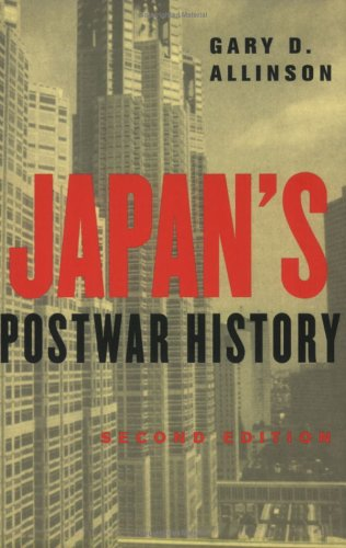 Japan's Postwar History  2nd 2004 (Revised) edition cover