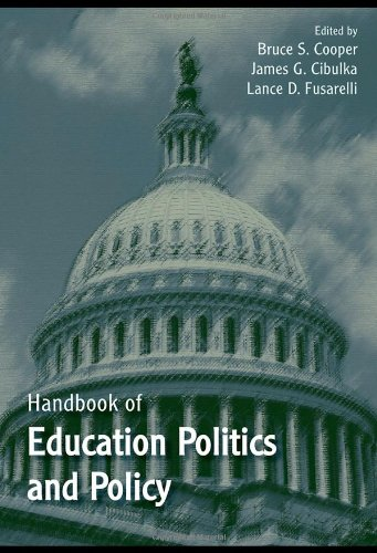 Handbook of Education Politics and Policy   2008 edition cover