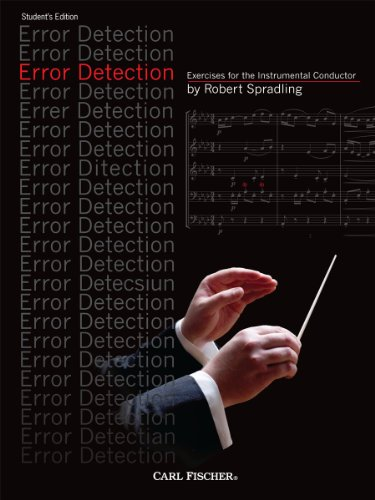 ERROR DETECTION SHEET MUSIC N/A edition cover