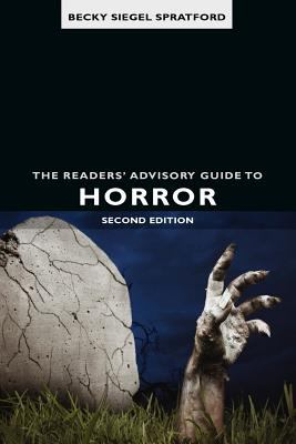 Readers' Advisory Guide to Horror  2nd 2011 edition cover