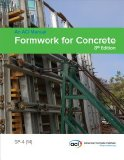 SP-4 (14) Formwork for Concrete  N/A 9780870319129 Front Cover