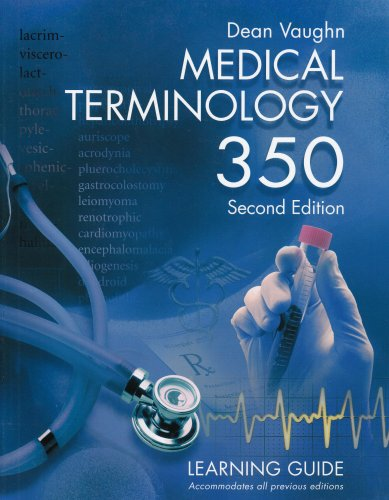 Medical Terminology 350 Learning Guide  2004 edition cover