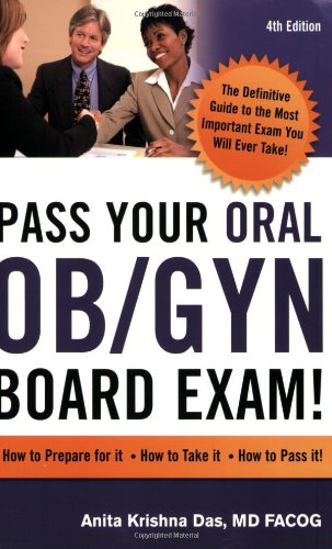Pass Your Oral Ob/Gyn Board Exam! (4th Ed)  N/A 9780982292129 Front Cover