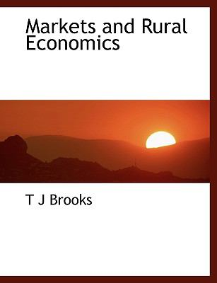 Markets and Rural Economics N/A 9781115321129 Front Cover