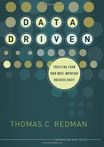Data Driven Profiting from Your Most Important Business Asset  2008 edition cover