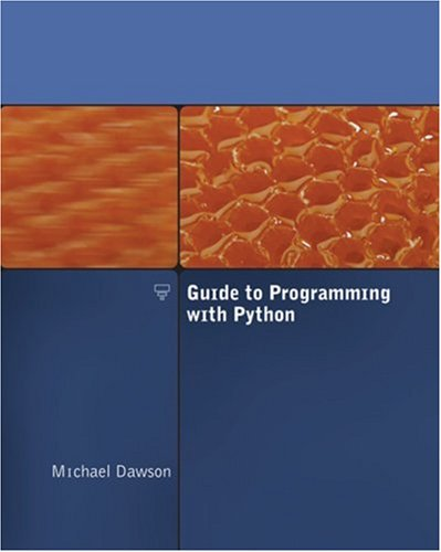 Guide to Programming with Python   2008 edition cover
