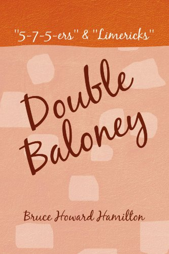 Double Baloney: 5-7-5-ers & Limericks  2009 edition cover
