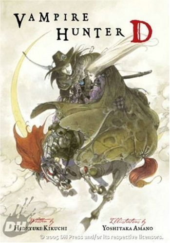 Vampire Hunter D   2005 edition cover