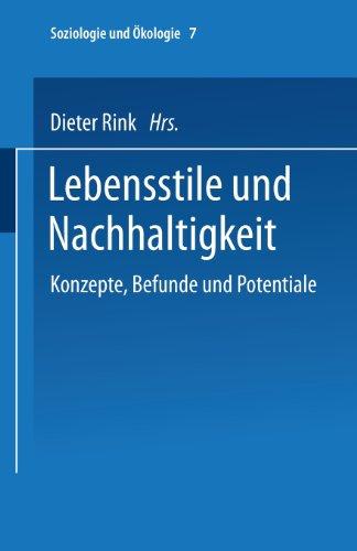 Lebensstile und Nachhaltigkeit   2002 9783810031129 Front Cover