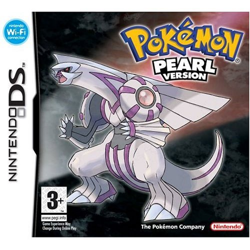 Pokemon Pearl Version Nintendo DS artwork