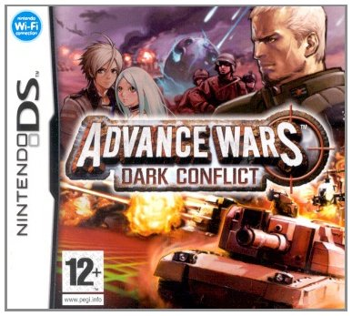 Advance Wars: Days of Ruin Nintendo DS artwork