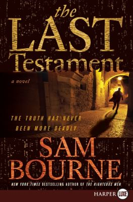 Last Testament  Large Type 9780061720130 Front Cover