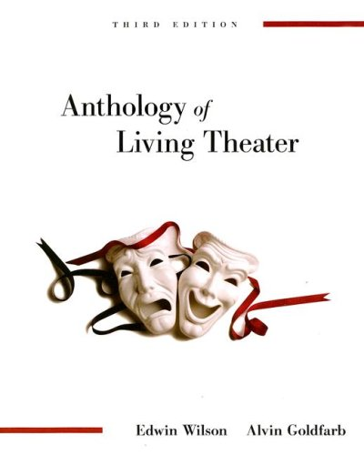 Anthology of Living Theater  3rd 2008 edition cover