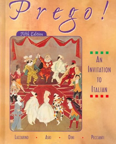Prego! : An Invitation to Italian 5th 2000 edition cover