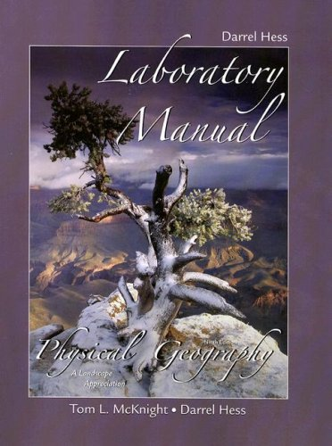 Physical Geography Laboratory Manual A Landscape Appreciation 9th 2008 edition cover