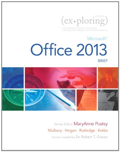 Exploring Microsoft Office 2013, Brief  2014 edition cover