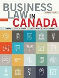 BUSINESS LAW IN CANADA                  N/A 9780133847130 Front Cover