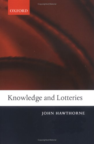 Knowledge and Lotteries   2005 edition cover