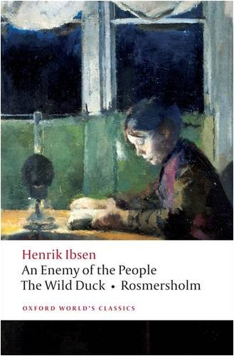 Enemy of the People, the Wild Duck, Rosmersholm   2009 edition cover