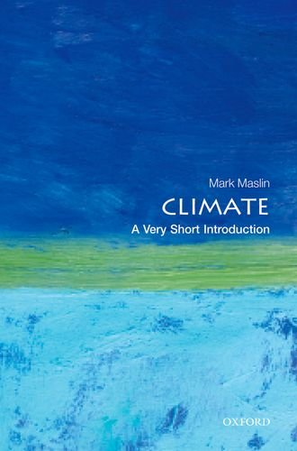 Climate: a Very Short Introduction   2013 edition cover