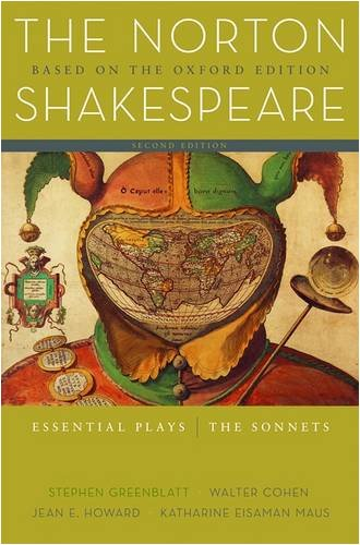 Norton Shakespeare Essential Plays - The Sonnets 2nd 2008 edition cover