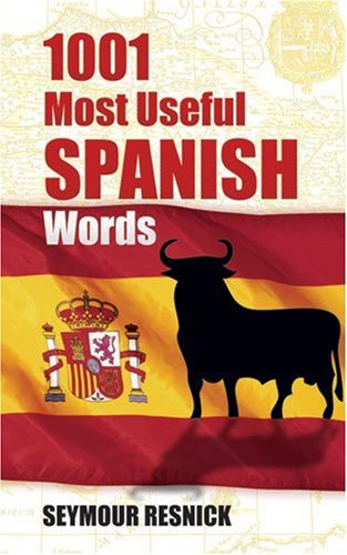 1001 Most Useful Spanish Words   1996 edition cover