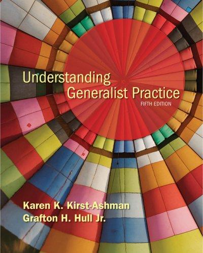 Understanding Generalist Practice  5th 2009 edition cover