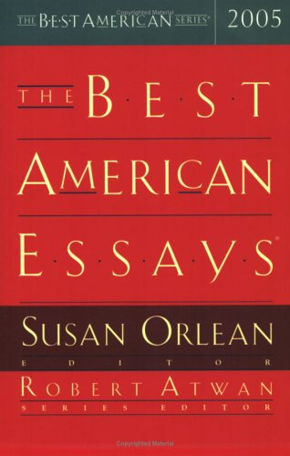Best American Essays 2005   2005 edition cover