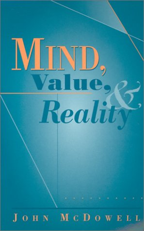 Mind, Value, and Reality   1998 edition cover