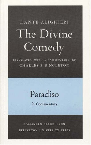 Divine Comedy Paradiso, Commentary  1992 edition cover