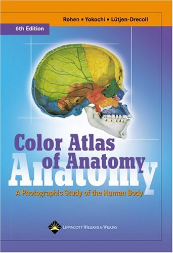Color Atlas of Anatomy A Photographic Study of the Human Body 6th 2006 (Revised) edition cover