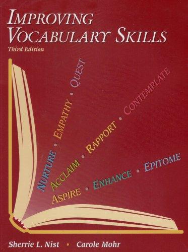 Improving Vocabulary Skills  3rd 2002 edition cover