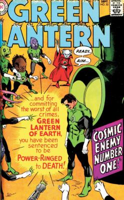 Green Lantern  N/A 9781401235130 Front Cover